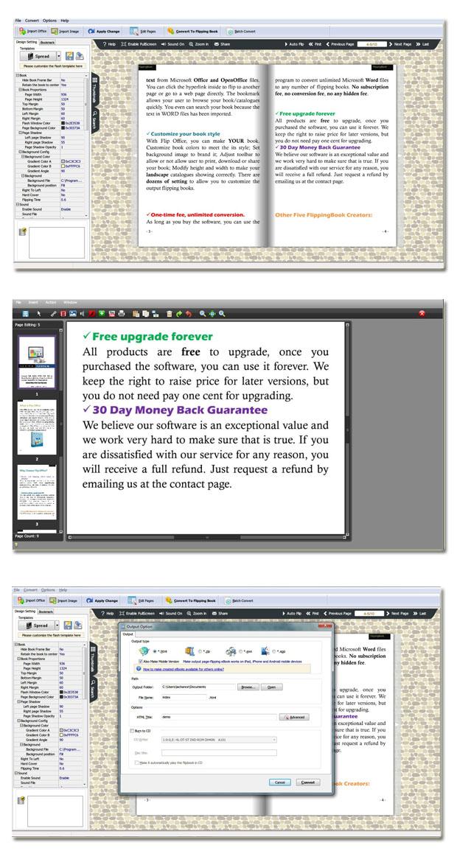 Windows 7 Flip Book Maker for Office Professional 1.7 full
