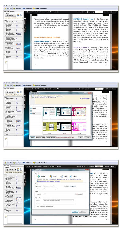 Flip Book Maker for Office screenshot