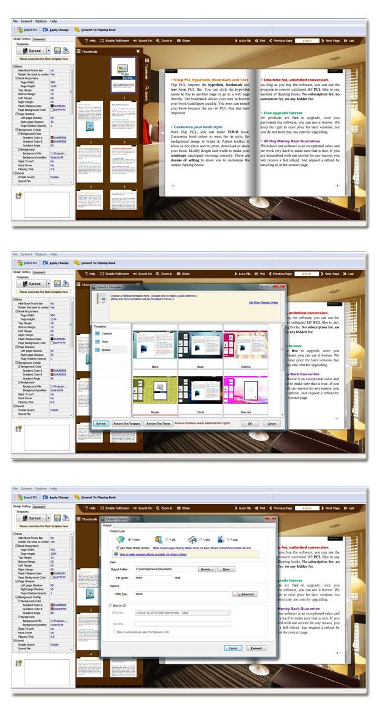 Windows 7 Flip Book Maker for PCL 1.7 full