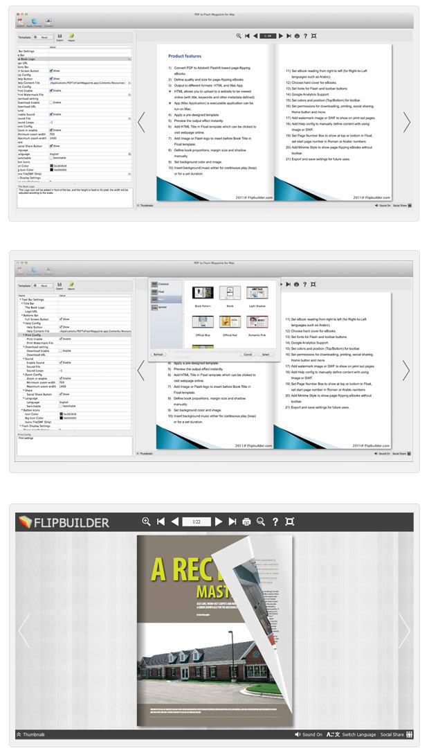Flip Book Maker for PDF Mac