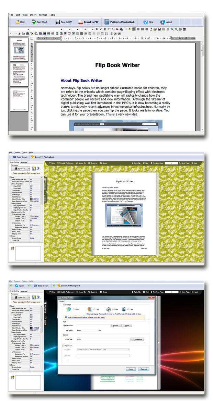 Flip Book Writer screenshot